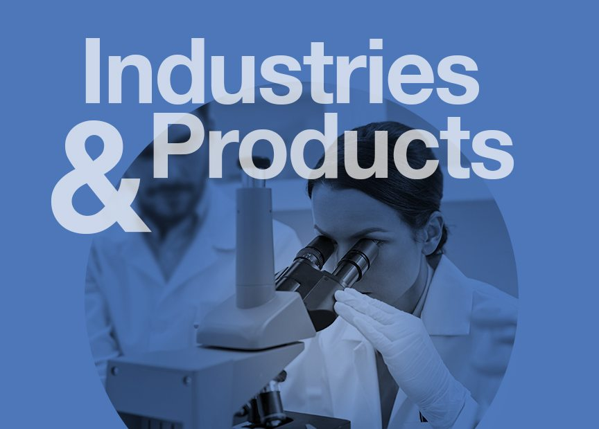 Industries & Products