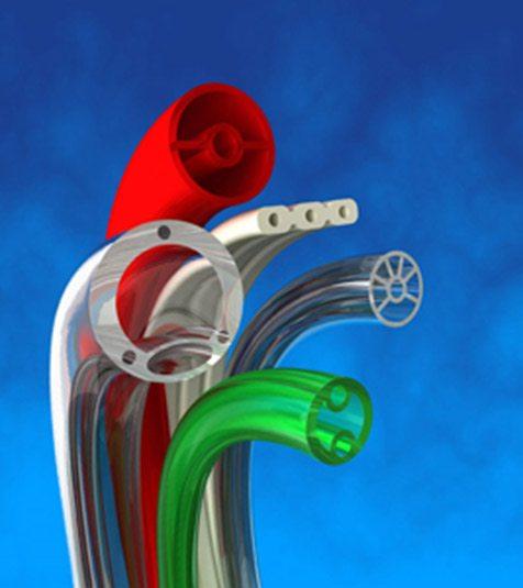 Multi-lumen & micro-extrusion tubing
