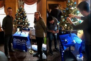 Dolco Packaging participates in Festival of Trees, Ft. Wayne, Indiana